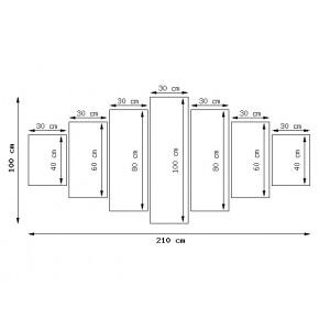 Wieczorny spacer 100x63cm - Obraz na ścianę