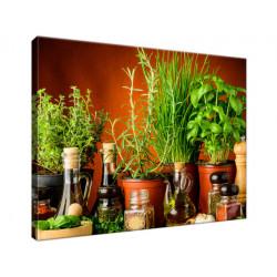 Przyprawy ziołowe 40x30