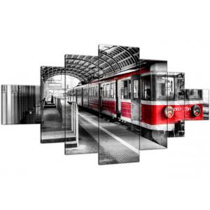 Pociąg na peronie 200x100
