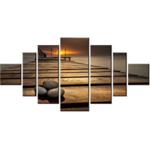 Dymaczewo Zachód słońca 150x105cm - Obraz na ścianę