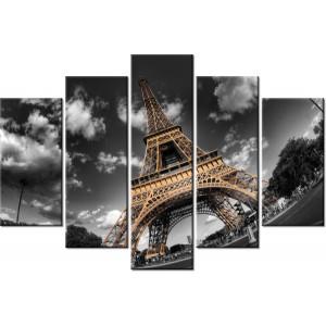 Pomarańczowe azalie 180x100cm - Obraz na ścianę