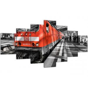 Czerwona lokomotywa 210x100