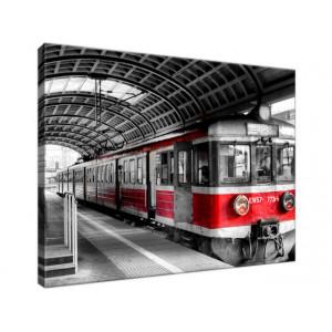 Dworzec w Poznaniu 40x30