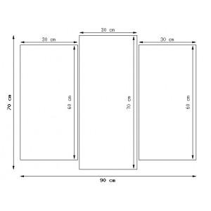 Traktor Belarus 150x105cm - Obraz na ścianę