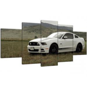 Traktor Belarus 90x70cm - Obraz na ścianę