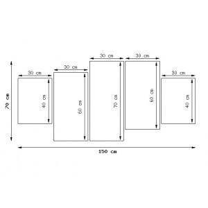 Traktor Belarus 160x70cm - Obraz na ścianę