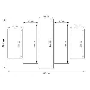 Traktor Belarus 180x70cm - Obraz na ścianę