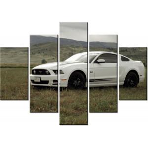 Traktor Belarus 120x100cm - Obraz na ścianę