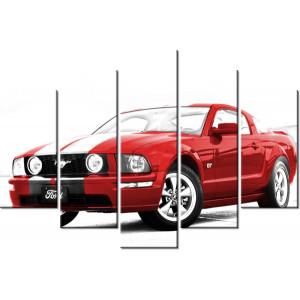 Traktor Belarus 160x80cm - Obraz na ścianę