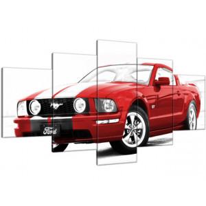 Traktor Belarus 150x100cm - Obraz na ścianę
