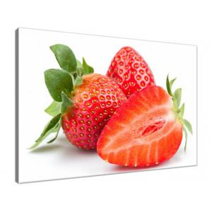 Świeże truskawki 60x40