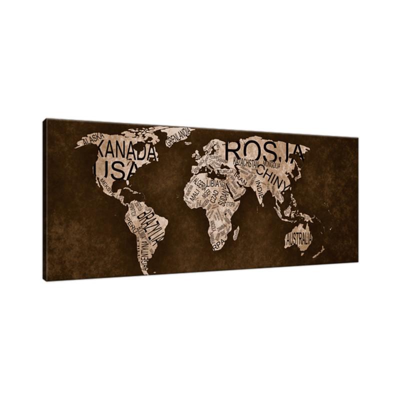 Krajobraz tatrzański 140x65cm - Obraz na ścianę