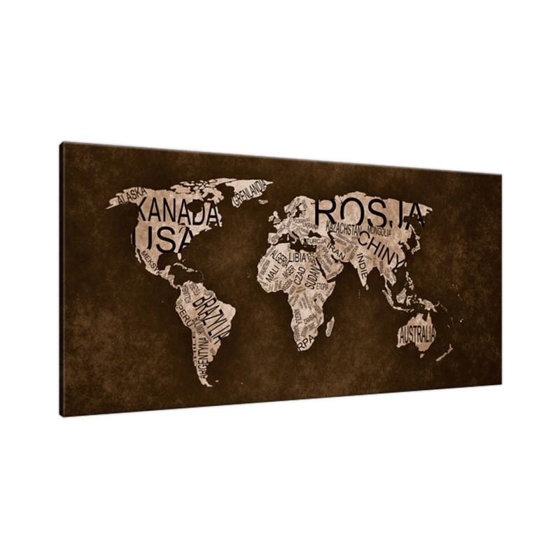 Krajobraz tatrzański 90x80cm - Obraz na ścianę