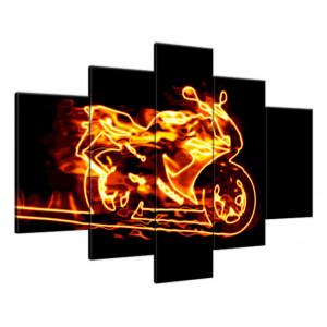 Chaty tatrzańskie 140x70cm - Obraz na ścianę