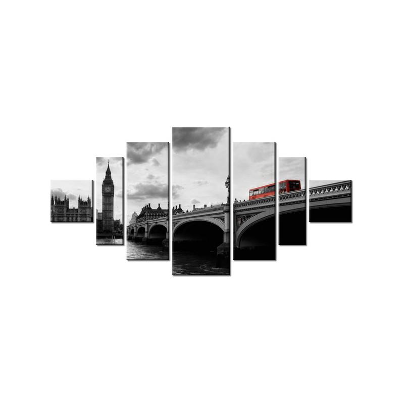 Chaty tatrzańskie 90x60cm - Obraz na ścianę