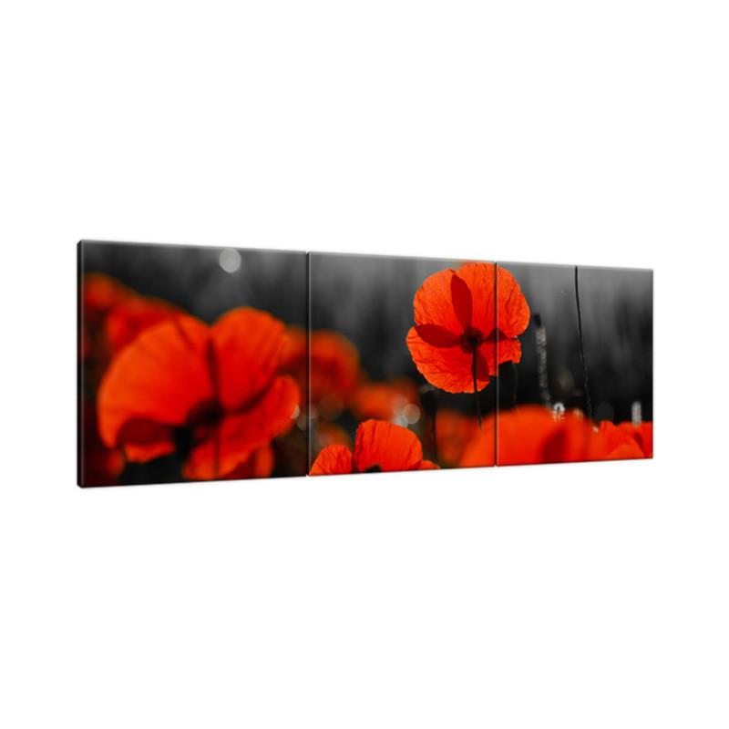 Kamienista droga 120x60cm - Obraz na ścianę