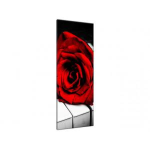 Róża na fortepianie 40x100