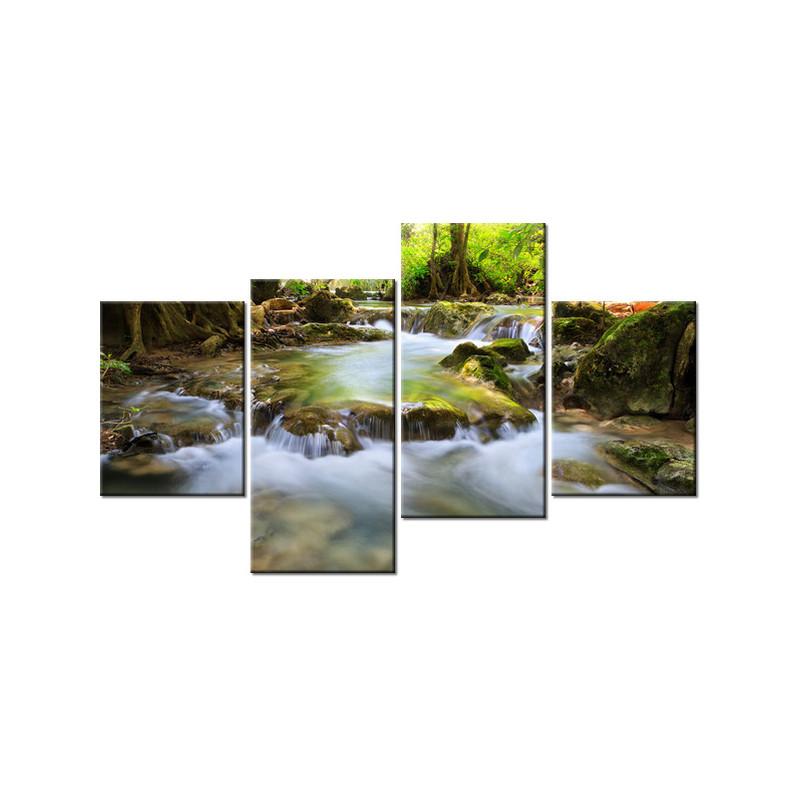 Parkowy bluszcz 160x90cm - Obraz na ścianę