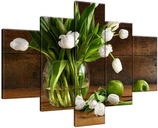 Obraz Śnieżnobiałe tulipany 2246A_5A